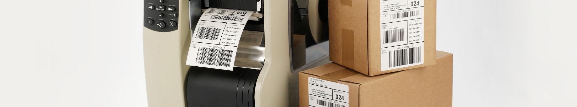 Printere til fragt- og forsendelse