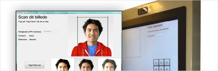 FotoMat© – fotoautomat til studiekort