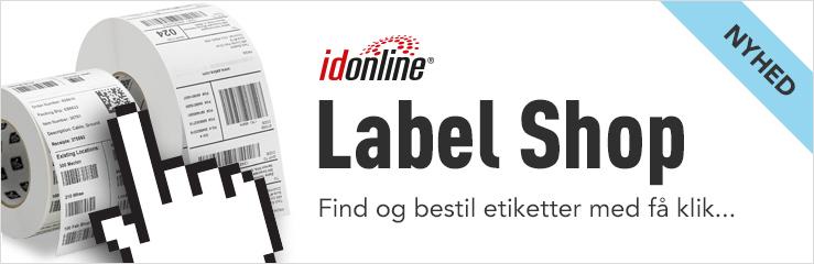 idonline gør det nemt at finde og bestille etiketter