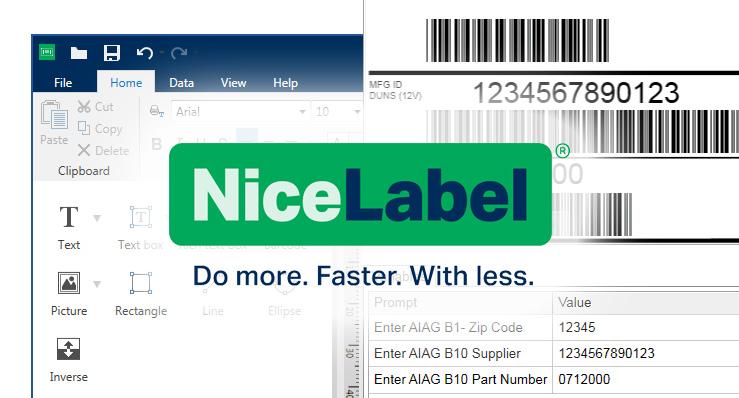 Med NiceLabel har design og print af etiketter aldrig været nemmere