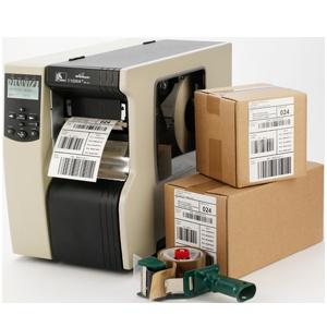 Zebra etiketprinter til industri
