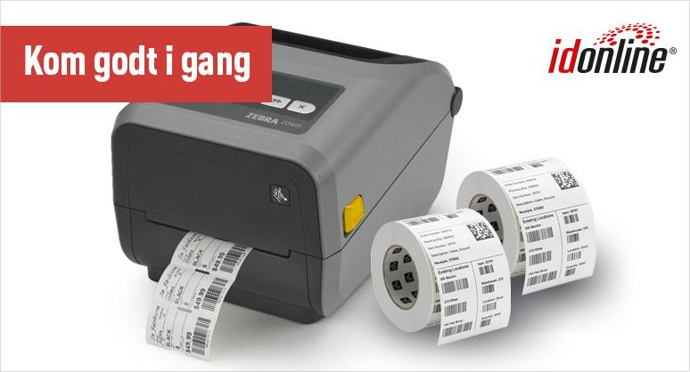 Kom godt i gang: printer til fragt- og forsendelse